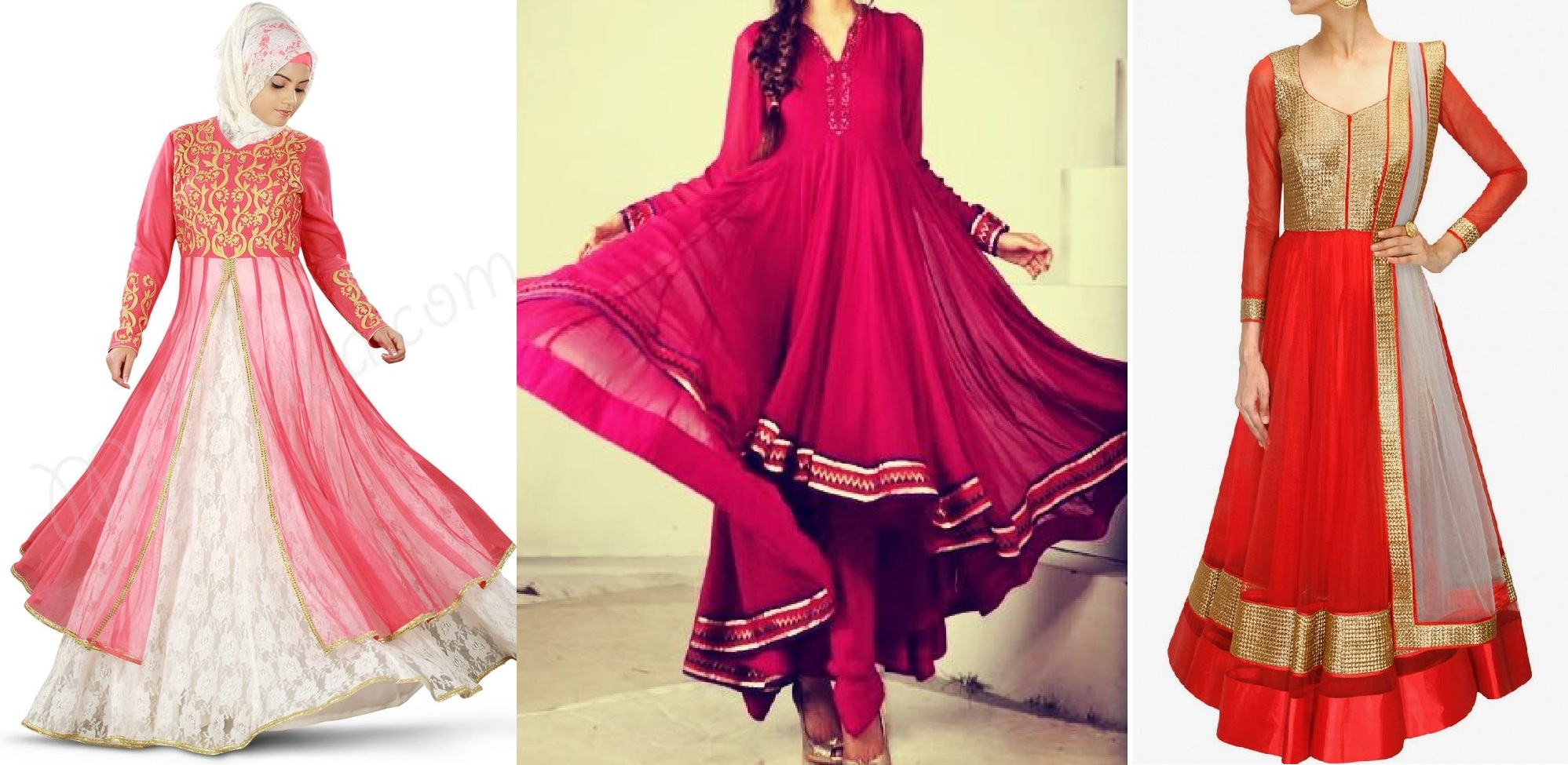 Latest Collection of Umbrella Dresses & Frocks Designs 2015-2016 (2)