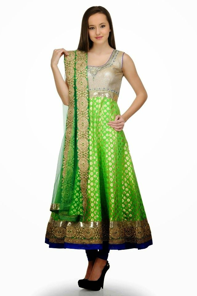 Latest Collection of Umbrella Dresses & Frocks Designs 2015-2016 (24)