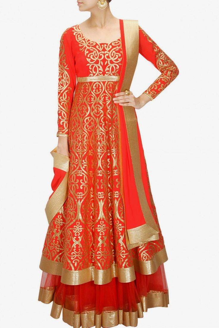 Latest Collection of Umbrella Dresses & Frocks Designs 2015-2016 (26)