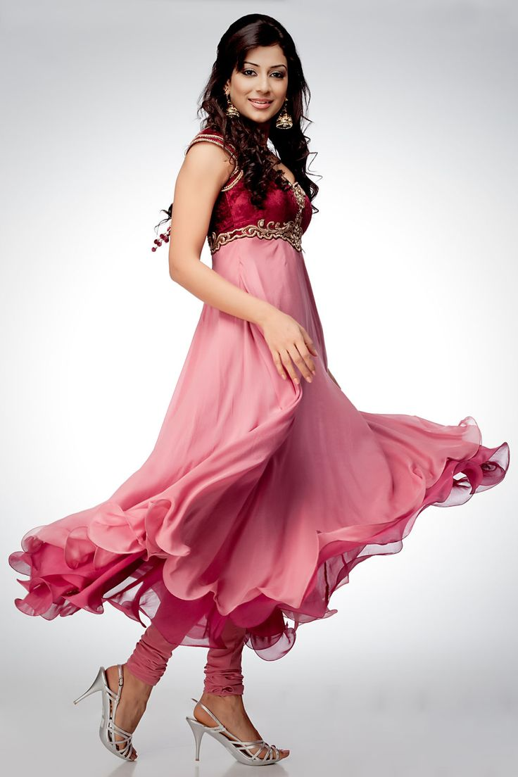 Latest Collection of Umbrella Dresses & Frocks Designs 2015-2016 (29)