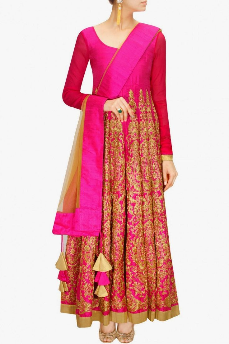 Latest Collection of Umbrella Dresses & Frocks Designs 2015-2016 (30)
