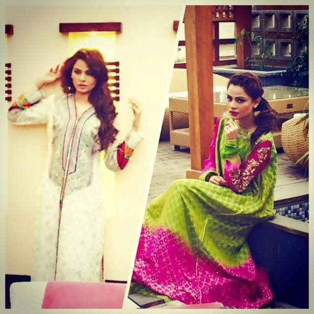Latest Pakistani Party wear Dresses for Women by Zunaira Lounge Formal Collection 2015-16 (20)