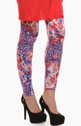 Latest Styles & Designs of Women Printed Embroidered Tights, Leggings & Capri Collection 2015-2016 (20)