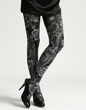Latest Styles & Designs of Women Printed Embroidered Tights, Leggings & Capri Collection 2015-2016 (23)