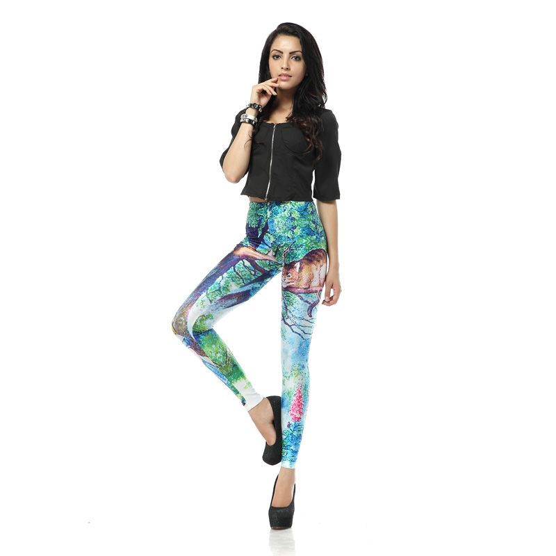 Latest Styles & Designs of Women Printed Embroidered Tights, Leggings & Capri Collection 2015-2016 (30)