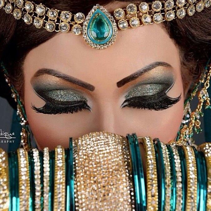 Arabic Bridal Party Wear Makeup Tutorial Step By Step Tips Ideas 2018