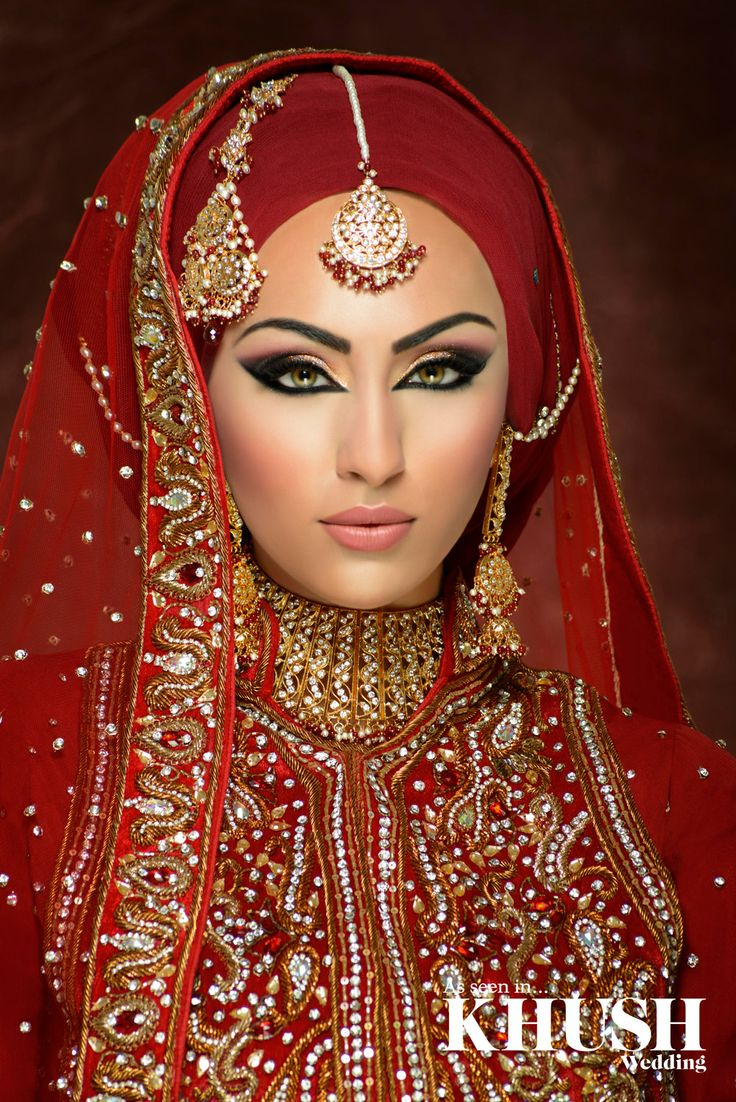 Step by Step Arabic Party Wear & Bridal Eye & Complete Face Makeup Tutorial with Pictures (19)