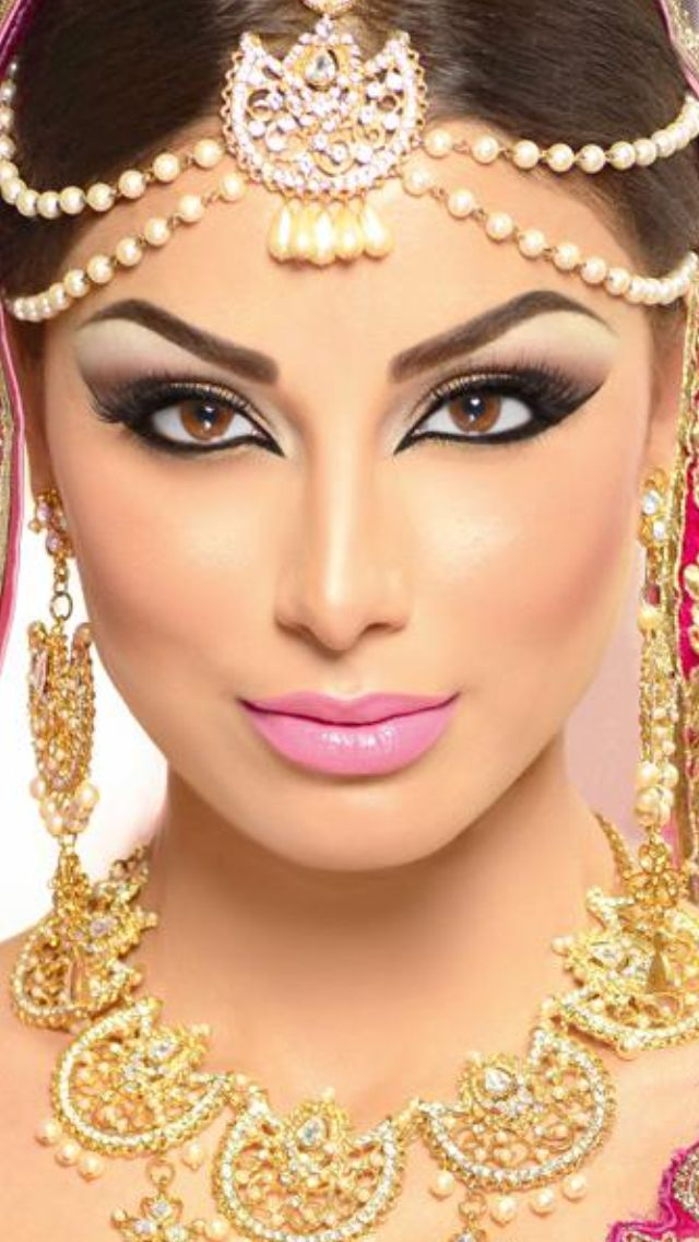 Bride Eye Makeup Tutorial : Arabic Bridal and Party Wear Makeup Tutorial Ideas Step By ...
