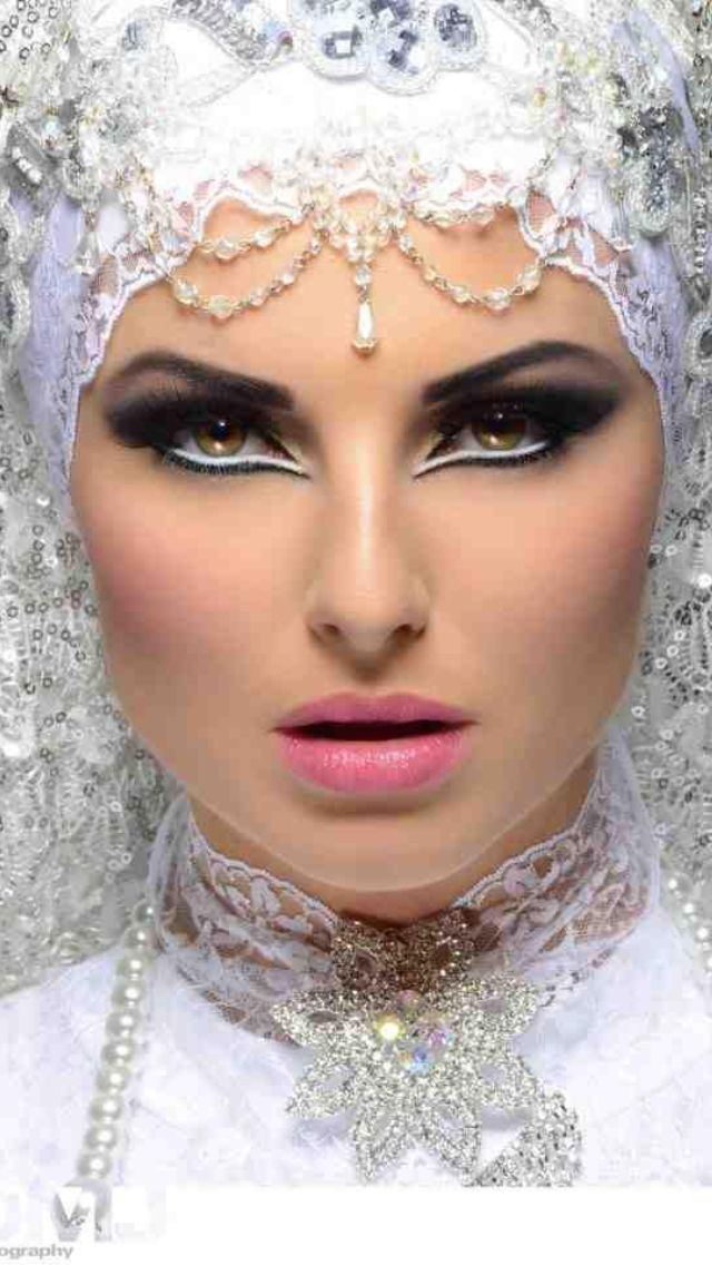 Bridal Makeup Step By Step Language : Arabic Bridal and Party Wear Makeup Tutorial Ideas Step By ...