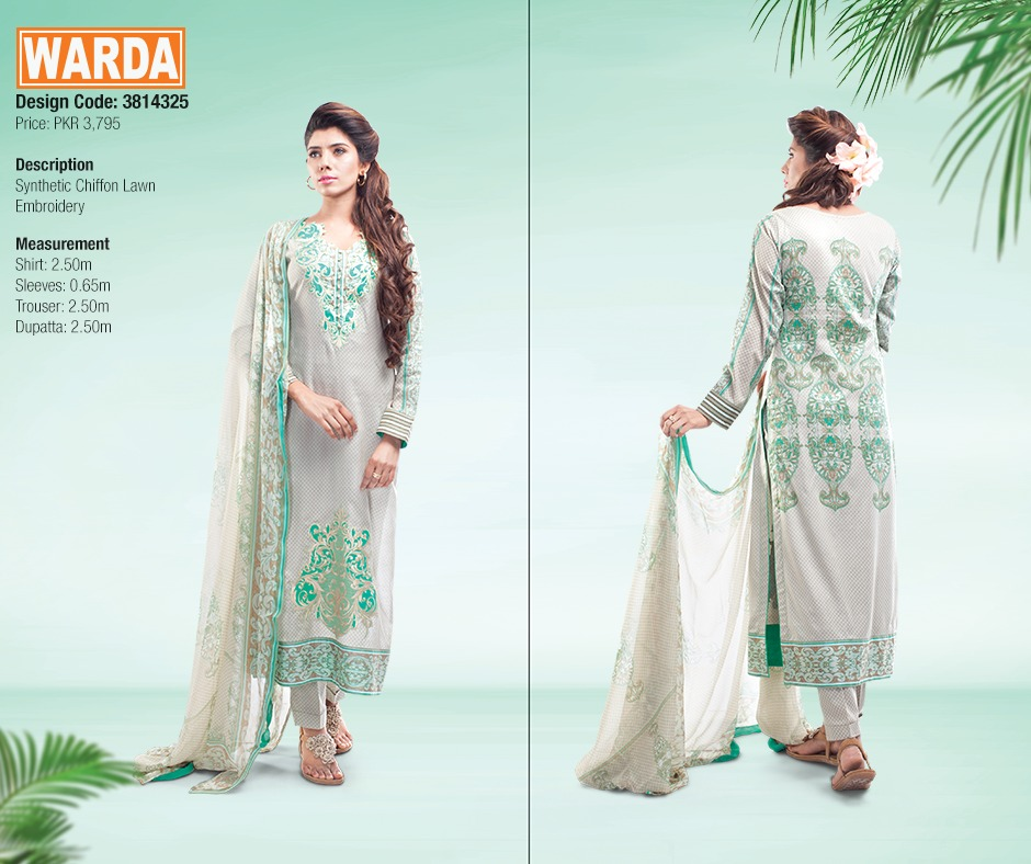 WARDA Spring Summer Feb Collection Latest Women Dresses 2015 (22)