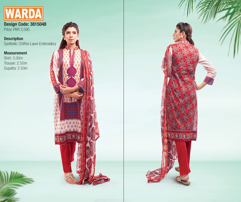 WARDA Spring Summer Feb Collection Latest Women Dresses 2015 (23)