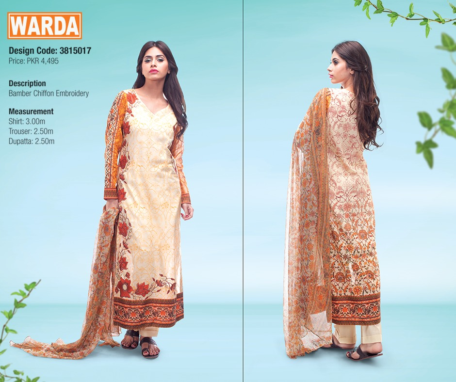 WARDA Spring Summer Feb Collection Latest Women Dresses 2015 (25)