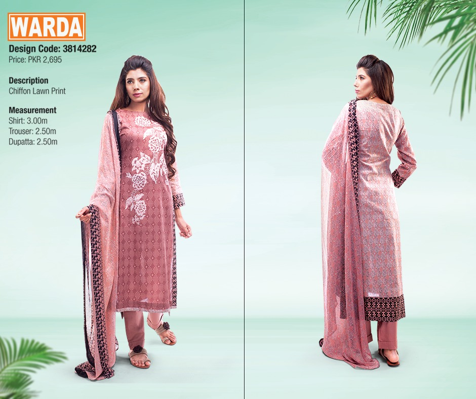 WARDA Spring Summer Feb Collection Latest Women Dresses 2015 (26)