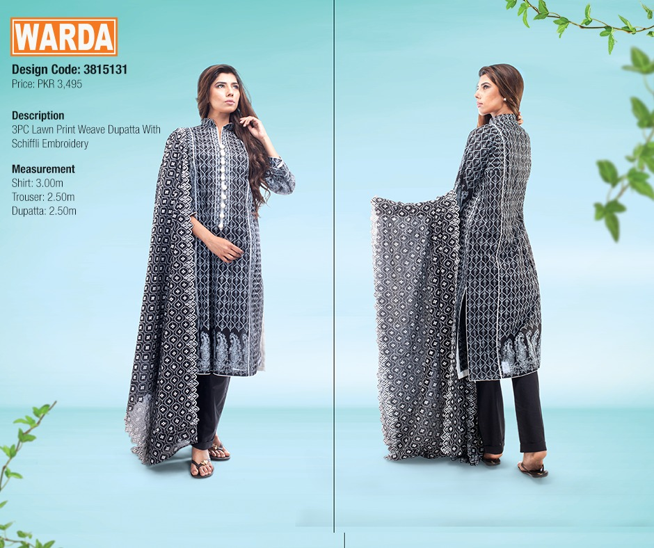 WARDA Spring Summer Feb Collection Latest Women Dresses 2015 (27)
