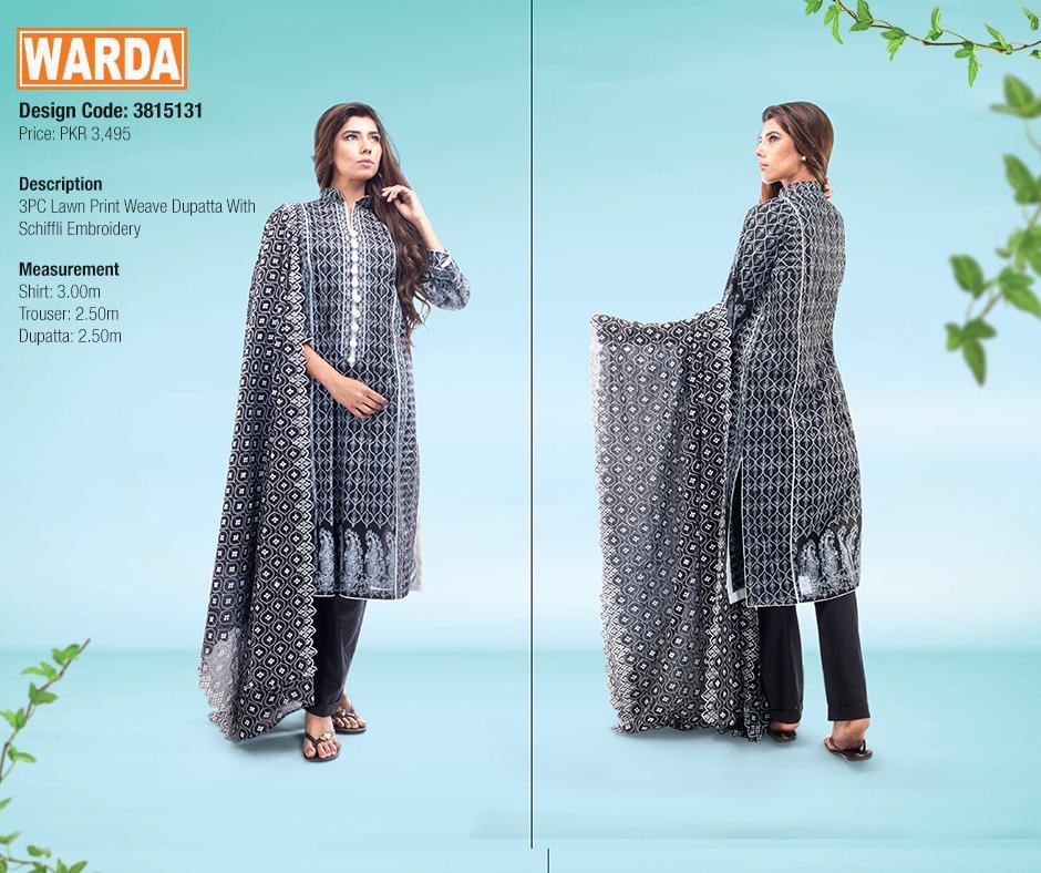 WARDA Spring Summer Feb Collection Latest Women Dresses 2015 (27)