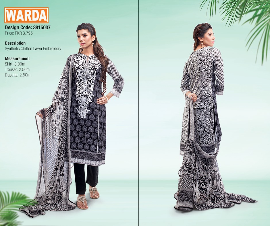 WARDA Spring Summer Feb Collection Latest Women Dresses 2015 (28)