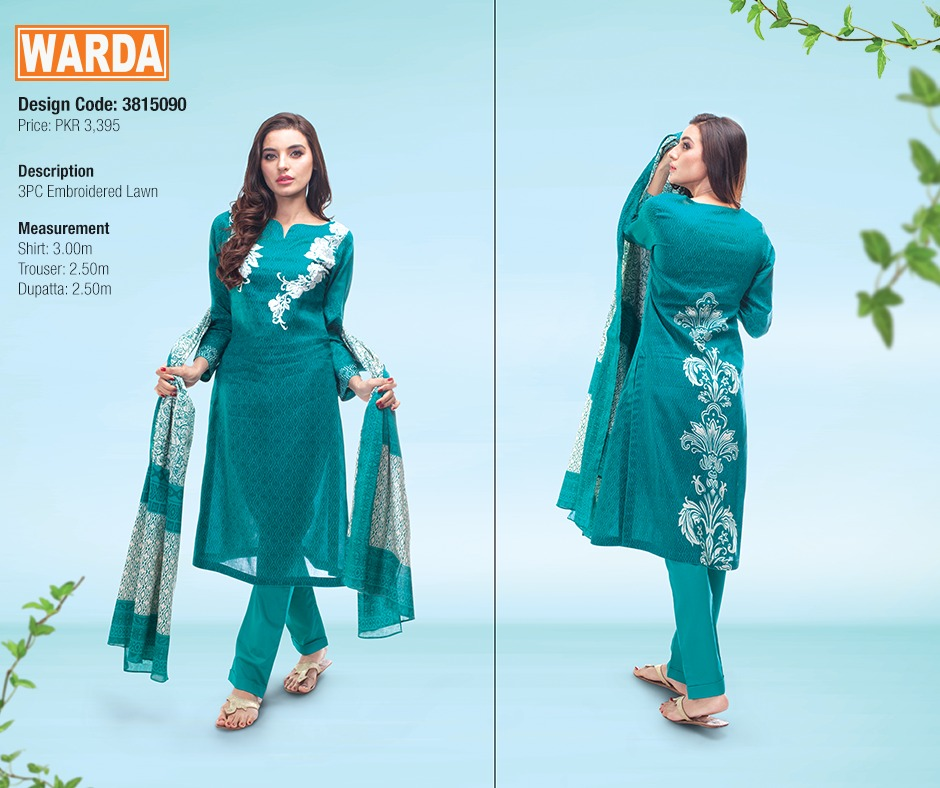 WARDA Spring Summer Feb Collection Latest Women Dresses 2015 (3)