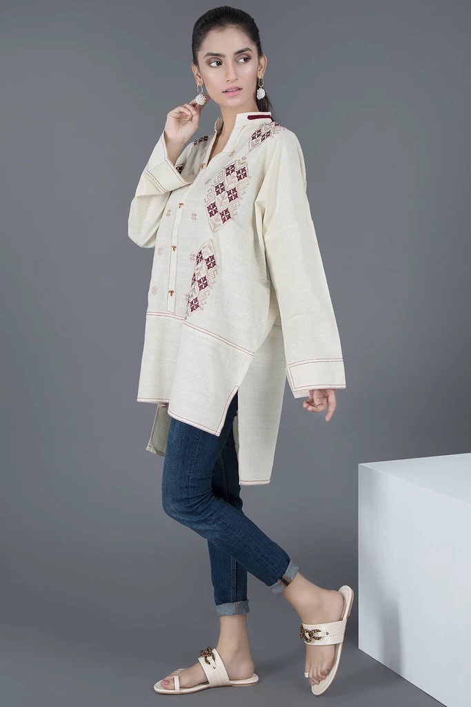 Warda Pakistani Designer Winter Shirts & Kurtis Collection