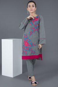 Warda Pakistani Designer Winter Shirts
