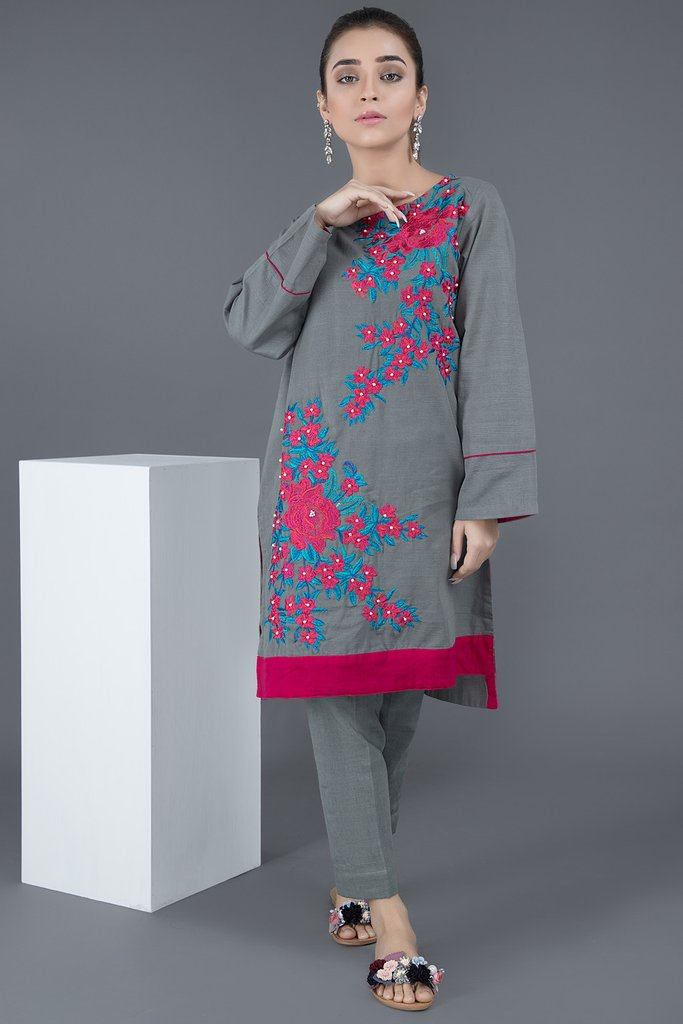 Warda Pakistani Designer Winter Shirts