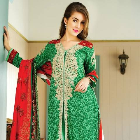 Alkaram Latest Spring Summer Dresses Collection for Women 2015 (1)