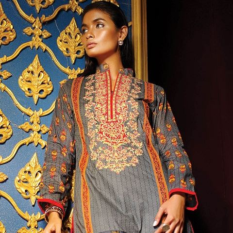 Alkaram Latest Spring Summer Dresses Collection for Women 2015 (2)
