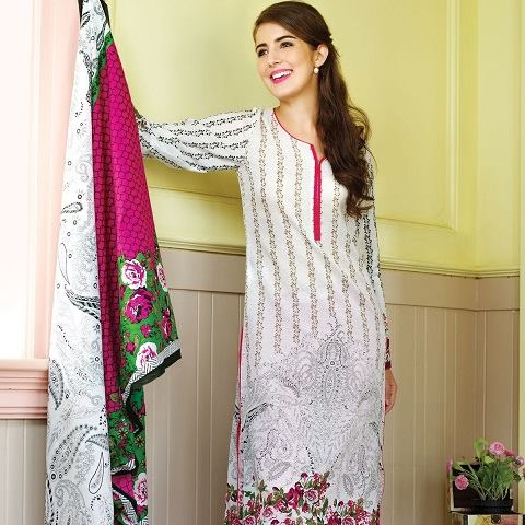 Alkaram Latest Spring Summer Dresses Collection for Women 2015 (3)