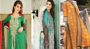 Latest Spring Summer Dresses for Women 2015 by Pakistan Brands