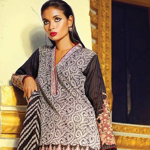 Alkaram Latest Spring Summer Dresses Collection for Women 2015 (4)