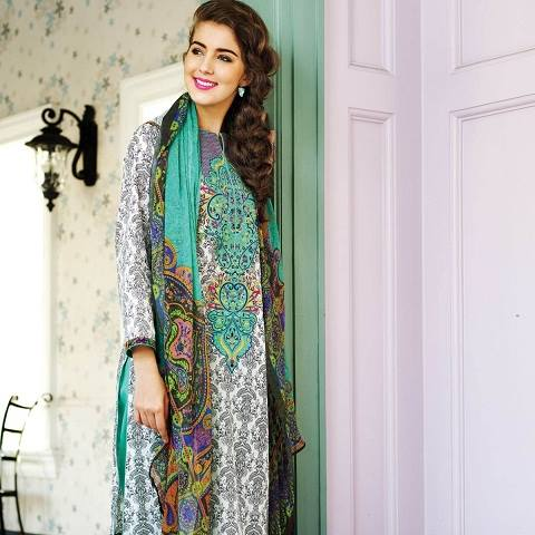 Alkaram Latest Spring Summer Dresses Collection for Women 2015 (6)