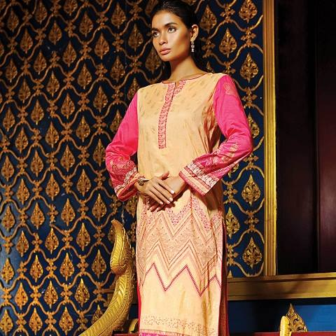 Alkaram Latest Spring Summer Dresses Collection for Women 2015 (7)