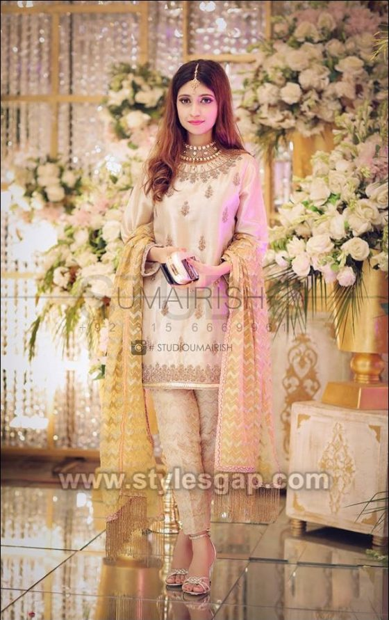 Asian Engagement Dresses Designs Latest Bridal Wear 2020