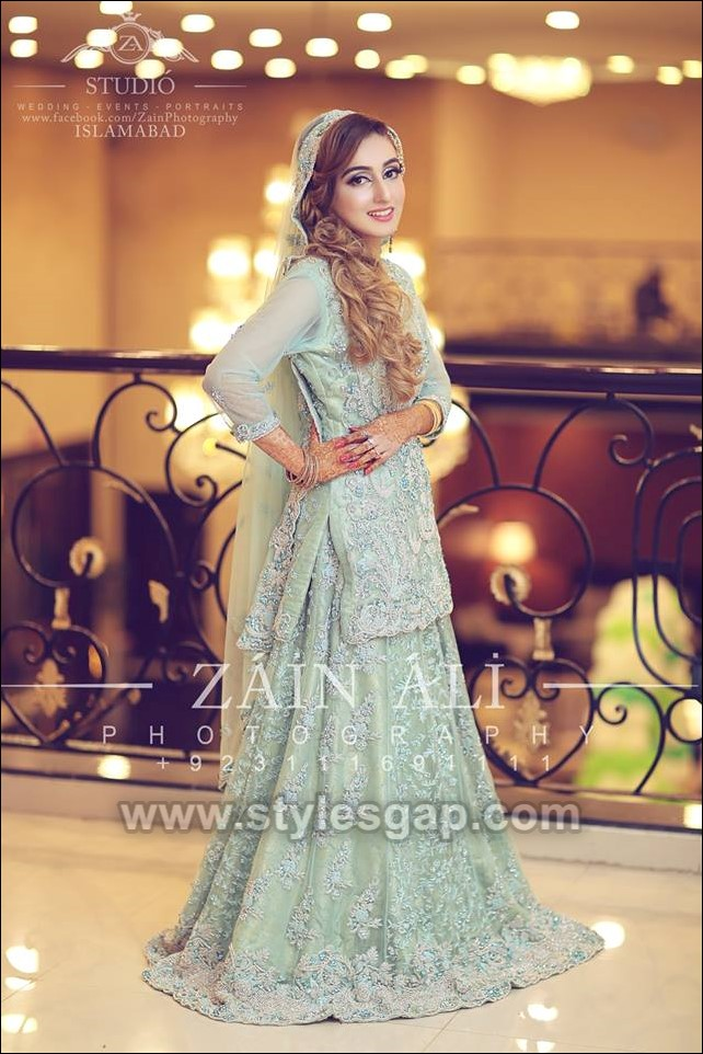 Asian Engagement Dresses Designs Latest Bridal Wear 2019