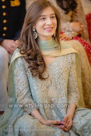 Asian Engagement Dresses Designs Latest Bridal Wear 2019-2020 Collection