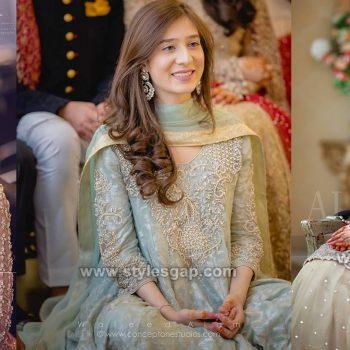 Asian Engagement Dresses Designs Latest Bridal Wear 2021 Collection