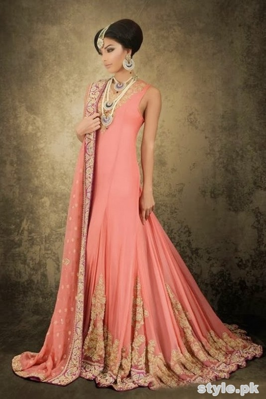 Barat Day Wedding Dresses for Asian bridals New Collection 2015-2016 (17)