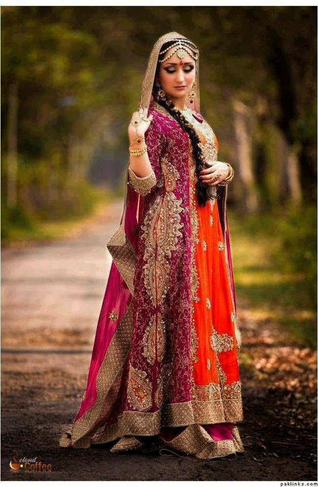 Barat Day Wedding Dresses for Asian bridals New Collection 2015-2016 (18)