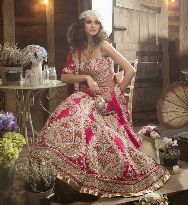 Barat Day Wedding Dresses for Asian bridals New Collection 2015-2016 (21)