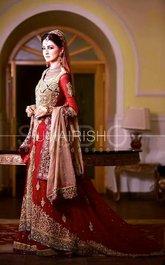 Barat Day Wedding Dresses for Asian bridals New Collection 2015-2016 (30)
