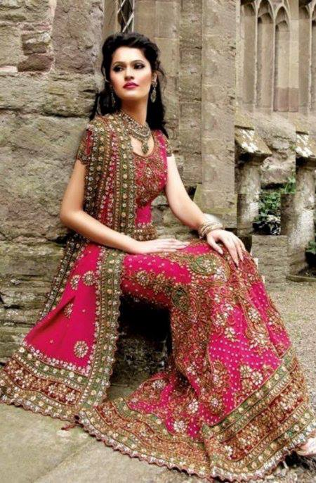 Barat Day Wedding Dresses for Asian bridals New Collection 2015-2016 (32)
