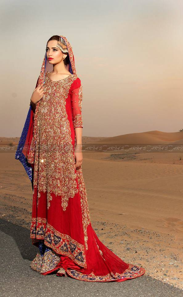 Barat Day Wedding Dresses for Asian bridals New Collection 2015-2016 (8)