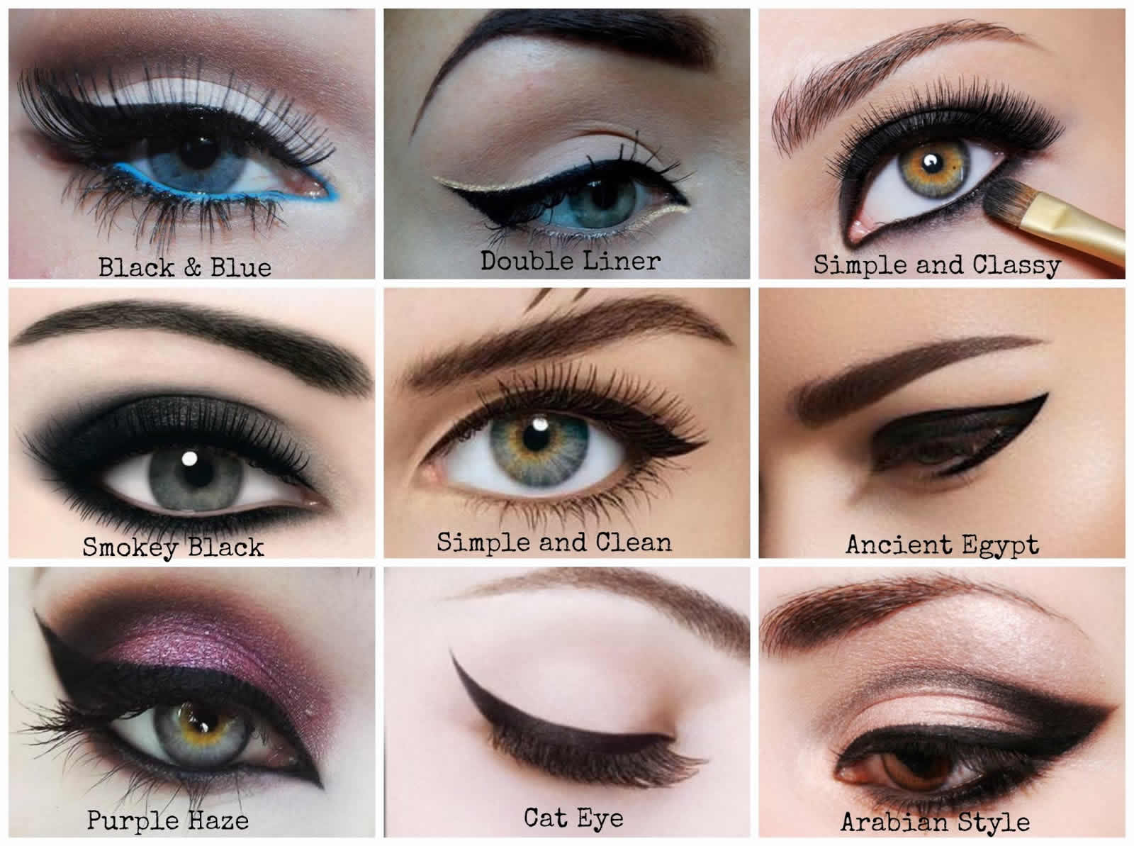 How to apply eyeliner perfectly by yourself step by step What is style