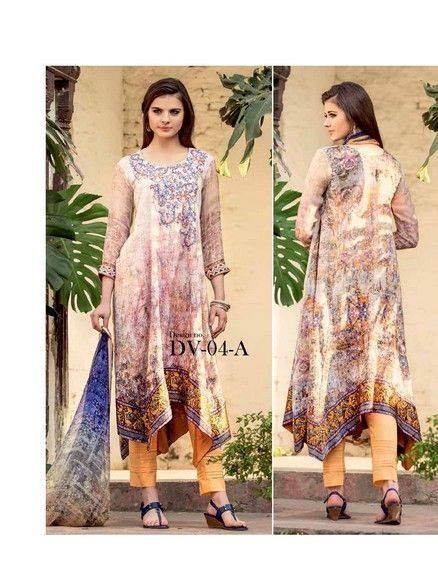 Five Star Textile Mills Latest Summer Collection Digital Printed Lawn Embroidered Dresses 2015 (16)