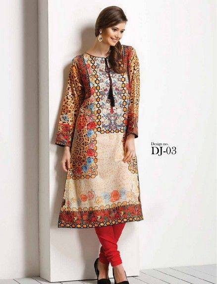 Five Star Textile Mills Latest Summer Collection Digital Printed Lawn Embroidered Dresses 2015  (25)