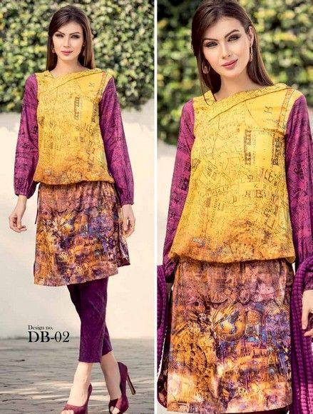 Five Star Textile Mills Latest Summer Collection Digital Printed Lawn Embroidered Dresses 2015  (26)