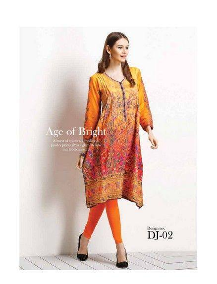 Five Star Textile Mills Latest Summer Collection Digital Printed Lawn Embroidered Dresses 2015 (6)