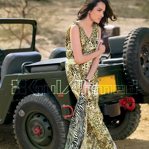 Gul Ahmed Latest Spring Summer Dresses Collection  for Women 2015 (2)