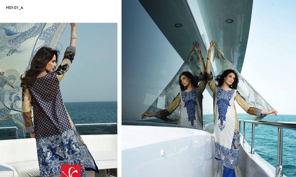 HSY Lawn 2015 by House of Ittehad Textiles summer collection for women (10)