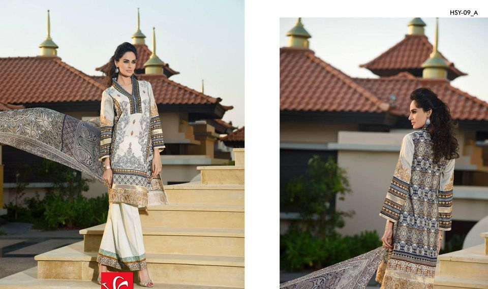 HSY Lawn 2015 by House of Ittehad Textiles summer collection for women  (15)