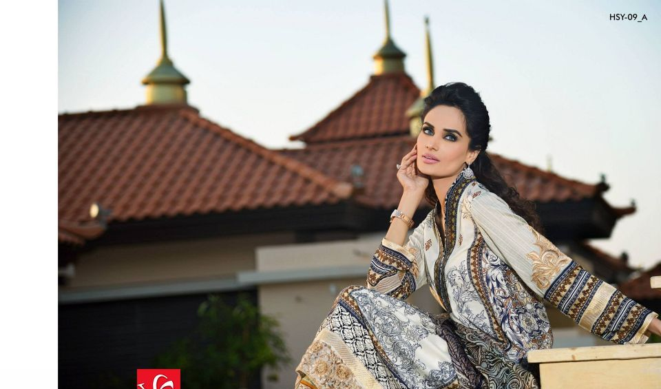 HSY Lawn 2015 by House of Ittehad Textiles summer collection for women  (16)
